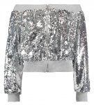Missguided LONDUNN Giubbotto Bomber silver