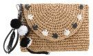 Pochette - natural/black/ white