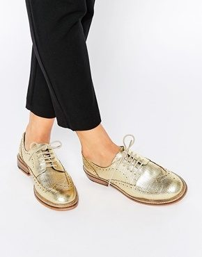 ASOS - Moral - Scarpe brogue in pelle