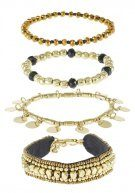 PCMIA 4 PACK - Bracciale - gold-coloured
