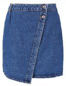 VMSUSANNA - Gonna di jeans - medium blue denim