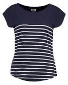 NEWPORT - T-shirt con stampa - navy/white