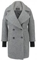 YASOLIVIA - Cappotto corto - light grey melange