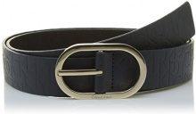 Calvin Klein Mish4 Logo K60K602239, Cintura Donna, Blu (Ombre Blue), 80