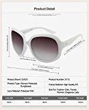 Duco da donna oversize occhiali da sole polarizzati 100% Protezione UV 3113
