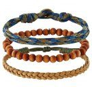 MELAMORPHO 3 PACK - Bracciale - brown