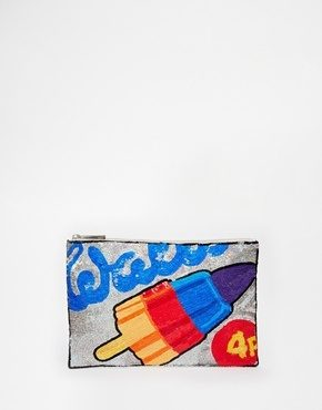 ASOS - Walls - Pochette decorata