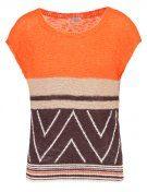 MAGLIA - T-shirt con stampa - orange