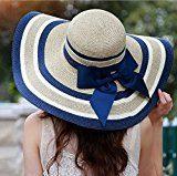 Vbiger Cappello Spiaggia in Chiffon per Donna Trekking