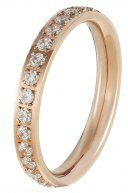 MYTH  - Anello - rose gold-coloured/clear