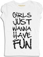 T-Shirt Donna - Just Have Fun Bianca