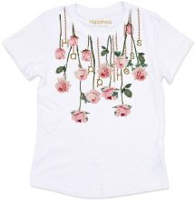 T-shirt Donna Splendida - Collana Rose