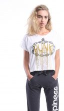 T-shirt Donna Splendida - Punk Rose