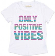 T-shirt Donna Splendida - Only Positive Vibes