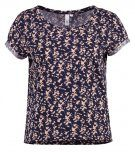 T-shirt con stampa - midnight blue