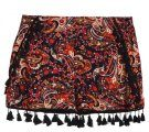 PAISLEY - Shorts - black/red