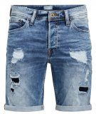 RICK ORIGINAL - Shorts di jeans - blue denim