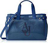 Armani Jeans 9225917p780, Borsa a mano Donna, Blu (Ocean Blu 09934), 13x27x41 cm