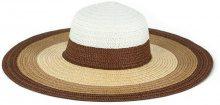 Cappello di paglia multicolore