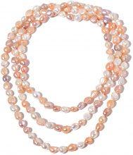 Collana tripla con perle d'acqua dolce