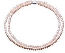 Collana di perle doppia