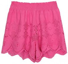 Shorts con pizzo crochet