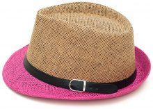 Cappello trilby con cinturini