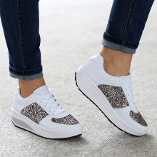 Sneakers fitness glitter