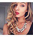 Happiness Boutique Collana Statement Perle | Collana XXL Fashion Catenina Vintage Oro senza nickel e senza piombo