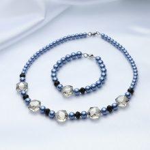 Parure di 2 gioielli di perle