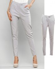 Pantaloni slim fit con cuciture