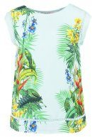 TROPICAL - T-shirt con stampa - aqua