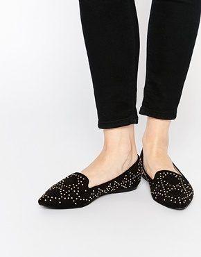 Oasis - Scarpe borchiate senza lacci