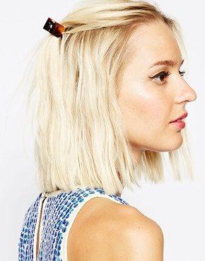 ASOS  - Confezione da 2 mollettoni per capelli in plastica
