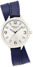 Mike Ellis New York Orologio da donna Streamline, analogico, al quarzo in pelle SL3142 F7