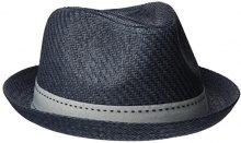 ESPRIT 047ea2p001, Cappello Panama Uomo, Blu (Grey Blue), Large