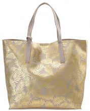 Shopping bag - gold