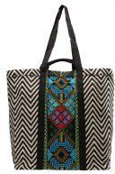 TAPESTRY ZIPTAPE  - Shopping bag - multi-coloured