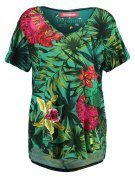 CARLYLE - T-shirt con stampa - verde johan