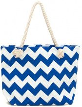 Borsa shopper in design a zig-zag