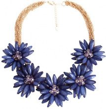 Collana statement floreale