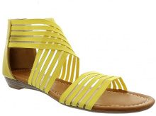Sandali con cinturini incrociati