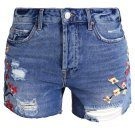 PAINTERLY ASHLEY - Shorts di jeans - middenim