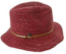 Seeberger Serie Anna, Cappelli da Sole Donna, Rot (Vino 0022), Taglia Unica