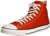 Converse All Star Hi Canvas Sneaker, Unisex Adulto, Rosso (Red), 37