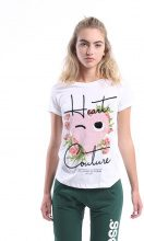 T-shirt Donna Splendida - Heart Couture