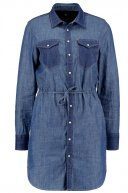 GStar TACOMA PM SHIRT DRESS L/S Vestito di jeans boll denim