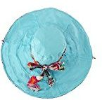 discoball -  Cappello da sole  - Donna Blu Light Blue unica