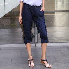 Pantaloni Capri con tasconi