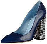 Pollini - Scarpad.pc Sq2/105 Vern.blue/Dom.bn, Scarpe col tacco Donna